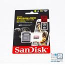 Tarjeta micro SD 128GB Extreme PRO A2 para 4k en GOPRO 170 MB/s Escritura 90 MB/s
