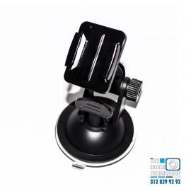 Ventosa con soporte para cámara en carro